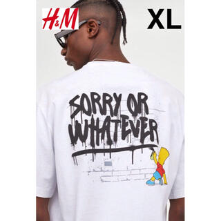 H&M - 新品 安値 H&M × シンフソンズ Simpsons Tシャツ XL