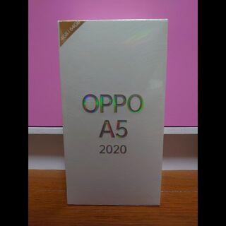 OPPO - 新品 OPPO A5 2020 グリーン