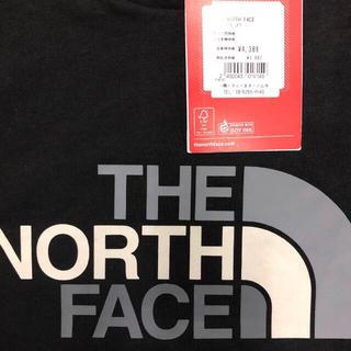 THE NORTH FACE - 人気ノースフェイス 王道BLACK グラデーションLOGO T海外 L