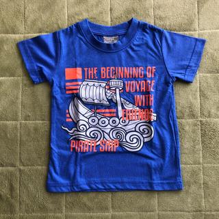 キッズ プライマルポイント 半袖 Tシャツ 100サイズ 青 船 海賊船(Tシャツ/カットソー)
