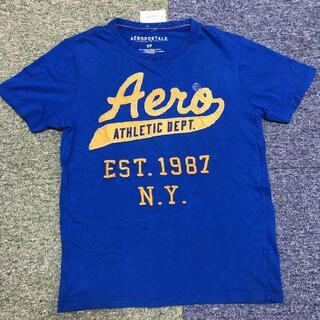 エアロポステール(AEROPOSTALE)のS サイズ AEROPOSTALE エアロポステール 新品未着用 青(Tシャツ/カットソー(半袖/袖なし))