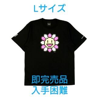 村上隆 kaikai kiki Tシャツ Lサイズ ブラック 入手困難 即完売品