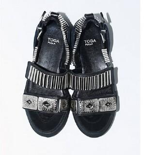 トーガ(TOGA)のtoga メンズ 43 サンダル メタル トーガ 靴 スニーカー(サンダル)