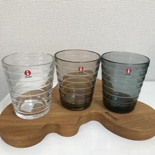 イッタラ(iittala)の新品☆イッタラ アイノアールト タンブラー 3点(グラス/カップ)