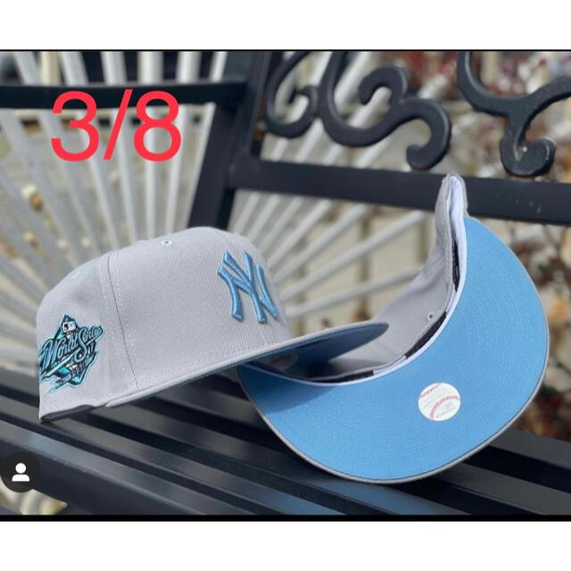 NEW ERA(ニューエラー)のNEW ERA 59fifty  NEW YORK YANKEES 3/8  メンズの帽子(キャップ)の商品写真