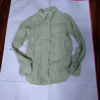ユニクロ(UNIQLO)のユニクロ麻100%シャツ(シャツ/ブラウス(長袖/七分))