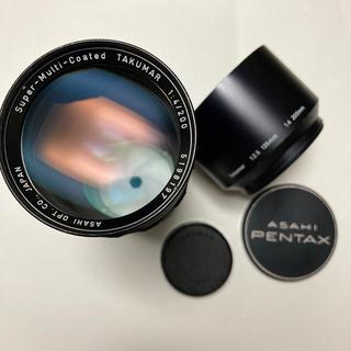 ペンタックス(PENTAX)の美品 SMC TAKUMAR 200mm F4 付属多数 タクマー(レンズ(単焦点))