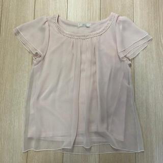 エニィスィス(anySiS)のトップス 春夏用(カットソー(半袖/袖なし))