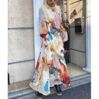 Ameri VINTAGE - 新品タグ付き アメリヴィンテージ インクアートドレス