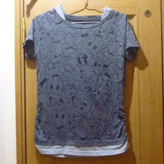 ディズニー(Disney)のドナルド チップ&デールのTシャツ サイズM <g486>(Tシャツ(半袖/袖なし))