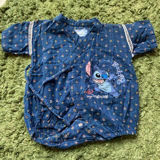 ディズニー(Disney)のロンパース 甚平 ディズニー スティッチ(甚平/浴衣)