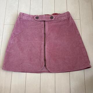 ザラ(ZARA)のZARA 140 台形スカート ピンク(スカート)