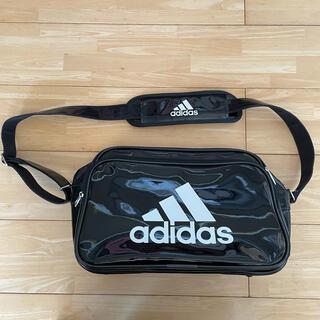 アディダス(adidas)のアディダス adidas エナメルバッグ ショルダーバッグ 肩掛け 鞄(ショルダーバッグ)