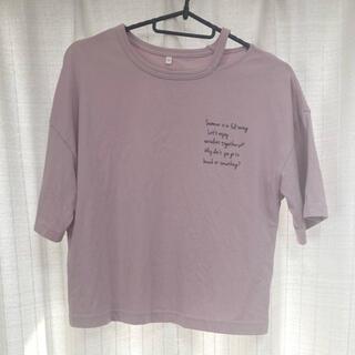 ジーユー(GU)のTシャツ カットソー(Tシャツ/カットソー)