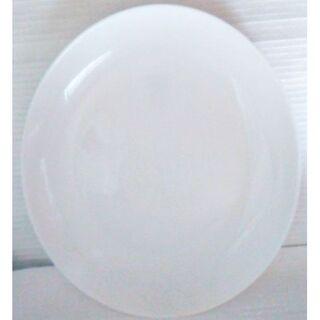 ヤマザキセイパン(山崎製パン)の新品★未使用25x21cm大皿 白い皿 大きめ皿 小判皿 楕円皿 楕円鉢 平皿(食器)