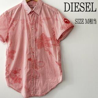 ディーゼル(DIESEL)のDIESEL ディーゼル 総柄 柄シャツ M相当(シャツ)