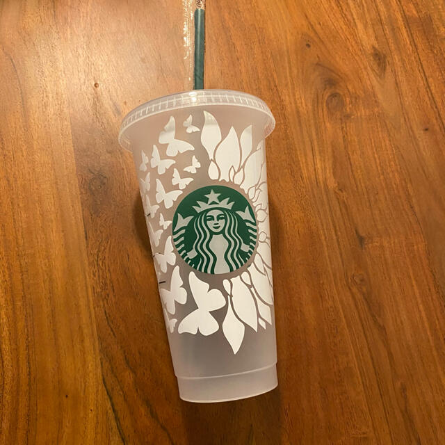 Starbucks Coffee(スターバックスコーヒー)のスターバックス リユーザブルカップ カスタム  インテリア/住まい/日用品のキッチン/食器(タンブラー)の商品写真