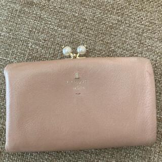 ランバンオンブルー(LANVIN en Bleu)のランバン オンブルー 財布 がま口 パール(財布)