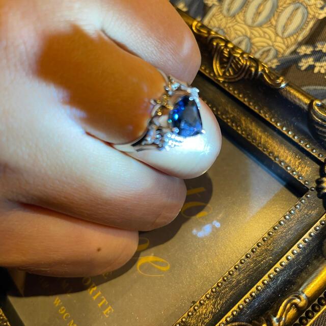 サファイアリング 2.27ct レディースのアクセサリー(リング(指輪))の商品写真