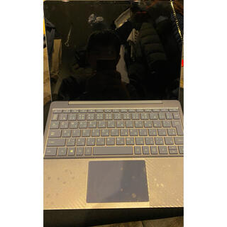 マイクロソフト(Microsoft)の【超絶美品】Surface Laptop Go アイスブルー本体SPSET(タブレット)