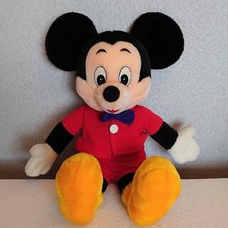 ディズニー(Disney)の90s! ミッキーマウス ぬいぐるみ ☆東京サンアンドスター☆ 全長55センチ(ぬいぐるみ)