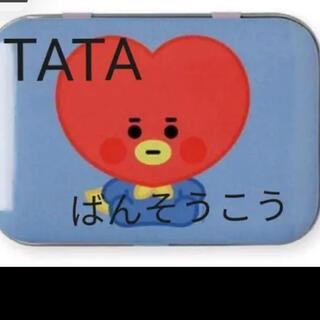 防弾少年団(BTS) - 日本未発売! BT21 baby TATA 絆創膏 50枚 缶 BTS テテ
