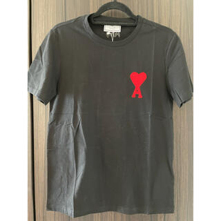 アクネ(ACNE)の新品タグ付き AmiロゴTシャツ 黒(Tシャツ/カットソー(半袖/袖なし))