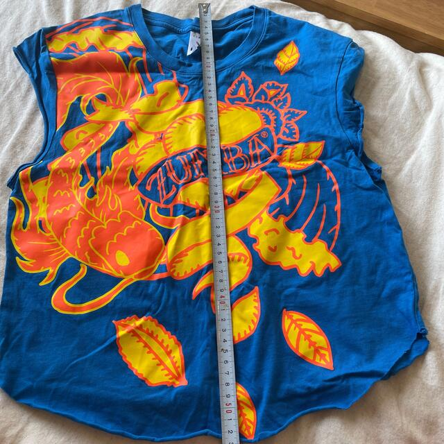 Zumba(ズンバ)のZUMBAウェア Tシャツ2枚組 スポーツ/アウトドアのスポーツ/アウトドア その他(ダンス/バレエ)の商品写真