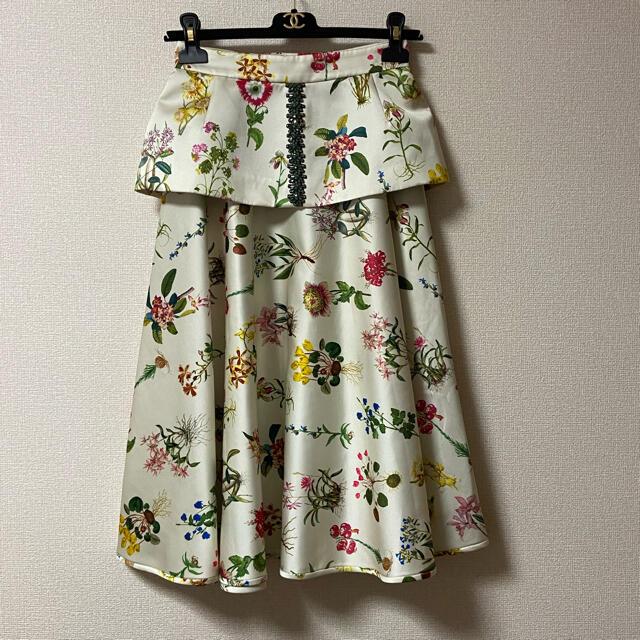 N°21(ヌメロヴェントゥーノ)のヌメロヴェントゥーノ N˚21 ウエスト飾り ビジュー スカート セット  レディースのスカート(ロングスカート)の商品写真