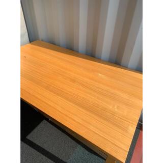 MUJI (無印良品) - 無印 ダイニングテーブル(タモ) W1400 D800