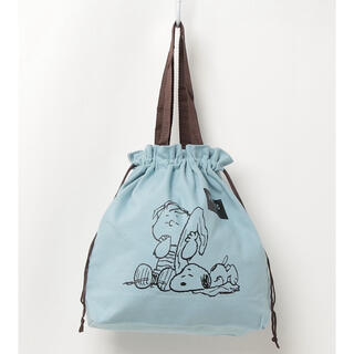 SNOOPY - スヌーピー コットン巾着 トートバック