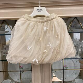 ベビーディオール(baby Dior)のトッカ tocca 90  シフォンスカート バルーンスカート(スカート)