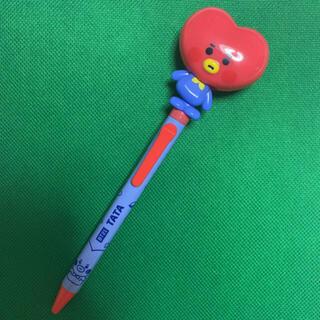 防弾少年団(BTS) - bt21  BTS    アクションペン ボールペン 黒色  TATA  テテ