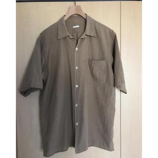 コモリ(COMOLI)のcomoli 20ss ベタシャンオープンカラーシャツ Khaki サイズ2(シャツ)