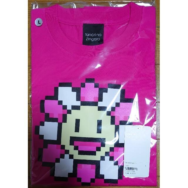 村上隆 kaikai kiki Tシャツ Lサイズ ピンク 入手困難 即完売品 メンズのトップス(Tシャツ/カットソー(半袖/袖なし))の商品写真