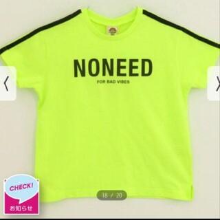 アナップキッズ(ANAP Kids)のANAPkids新品NONEEDTシャツ(Tシャツ/カットソー)