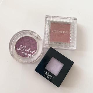セザンヌケショウヒン(CEZANNE(セザンヌ化粧品))のピンク パープル系 アイシャドウセット(アイシャドウ)