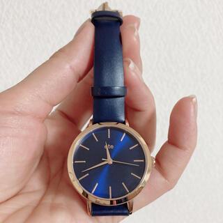 ete - ete エテ 腕時計  本革ベルト