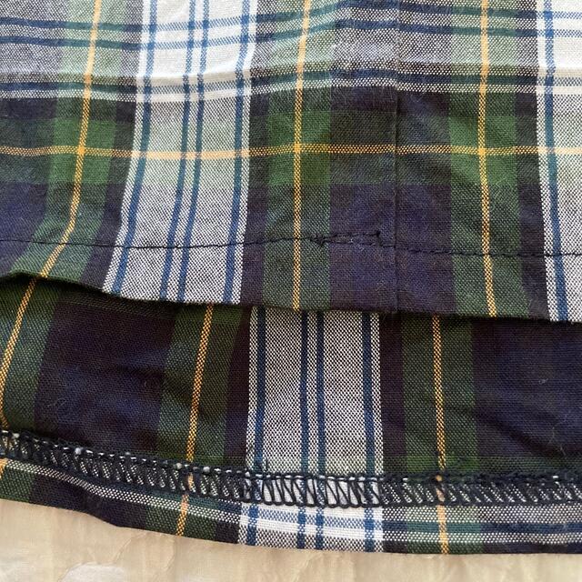 familiar(ファミリア)のファミリア チェック ノースリーブ ワンピース 100〜110cm キッズ/ベビー/マタニティのキッズ服女の子用(90cm~)(ワンピース)の商品写真