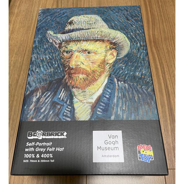 MEDICOM TOY(メディコムトイ)の【新品】BE@RBRICK  Van Gogh  100% 400% ゴッホ エンタメ/ホビーのフィギュア(その他)の商品写真