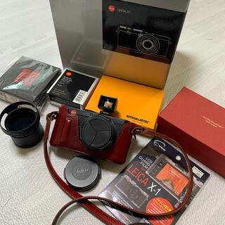 ライカ(LEICA)の【まんもす様専用】Leica(ライカ)X1 Black +豪華アクセサリーセット(コンパクトデジタルカメラ)