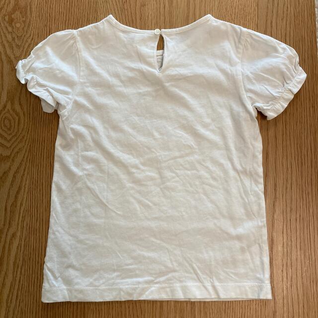 A CAN B(エーキャンビー)のスカート、Tシャツ2枚 3点セット キッズ キッズ/ベビー/マタニティのキッズ服女の子用(90cm~)(Tシャツ/カットソー)の商品写真
