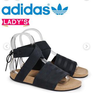 アディダス(adidas)の新品 アディダス オリジナルス adidas アディレッタ サンダル ブラック(サンダル)