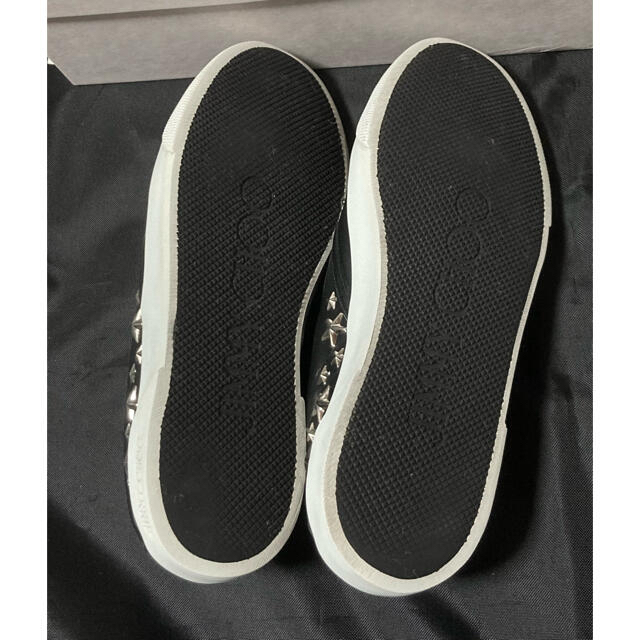JIMMY CHOO(ジミーチュウ)のジミーチュウ❤️スリッポン 38 レディースの靴/シューズ(スリッポン/モカシン)の商品写真