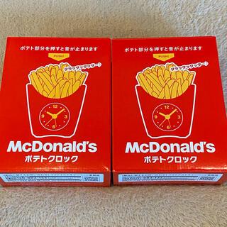 マクドナルド(マクドナルド)のマクドナルド 福袋 2021 時計 2個セット(ノベルティグッズ)