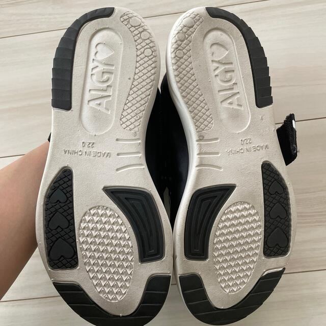 ALGY スニーカー 22cm キッズ/ベビー/マタニティのキッズ靴/シューズ(15cm~)(スニーカー)の商品写真