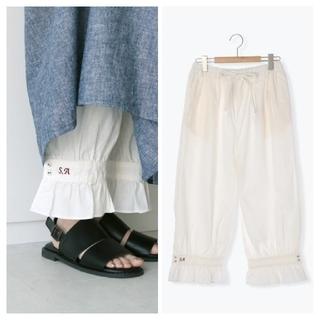 サマンサモスモス(SM2)のSM2*35thSA刺繍パンツ(カジュアルパンツ)