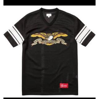 シュプリーム(Supreme)のSupreme×ANTI HERO フットボールトップ  シュプリーム(Tシャツ/カットソー(半袖/袖なし))