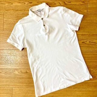 Calvin Klein - 美品 Calvin Klein カルバンクライン ポロシャツ ホワイト 白 xs