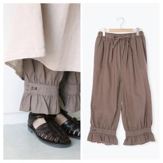 サマンサモスモス(SM2)のSM2*35thSA刺繍パンツ/M(カジュアルパンツ)